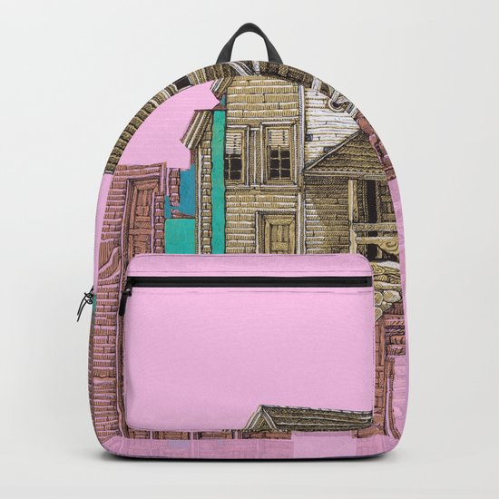house defromation Backpack