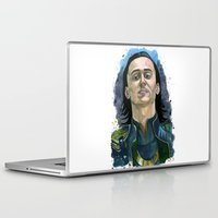 loki Laptop & iPad Skins featuring Loki by OnaVonVerdoux