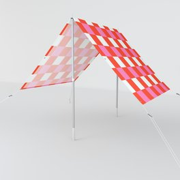Red Chessboard Sun Shade