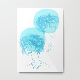 Percy Age Difference Metal Print