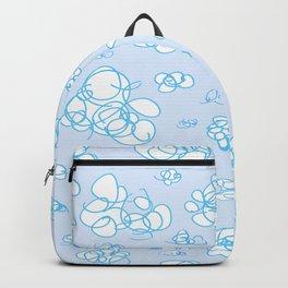 Soft Fluffy Cloud Doodle Backpack