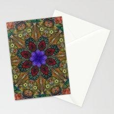 Hallucination Mandala 1 Stationery Cards