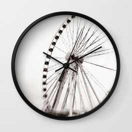 BLACK & WHITE 103 Wall Clock