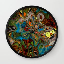 Stoned Collage 2 Wall Clock