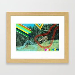 Interspecies Communique Framed Art Print