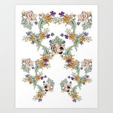 garden lace Art Print