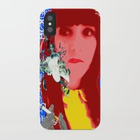 her art iPhone & iPod Cases featuring HER by Lisamce