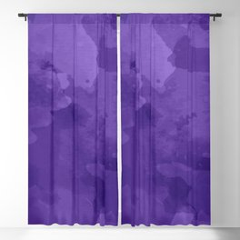 amethyst watercolor abstract Blackout Curtain