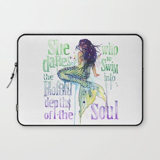 Mermaid : Profound Depths Laptop Sleeve