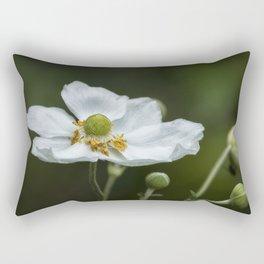 Graceful Anemones, No. 3 Rectangular Pillow