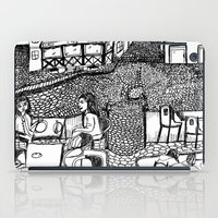 stockholm iPad Cases featuring Stockholm by intermittentdreamscapes