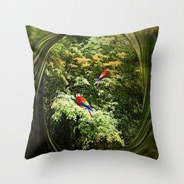 Dappled Light and Shade Throw Pillow
