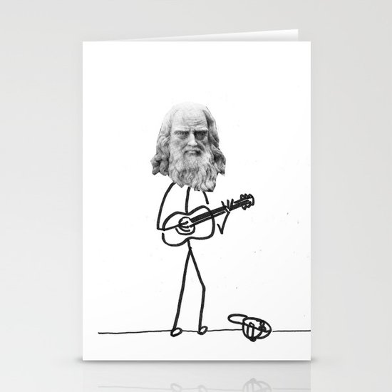 the struggling artist Stationery Cards