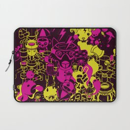Dream Factory Pink and Yellow Laptop Sleeve