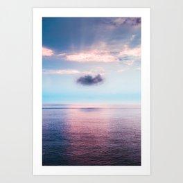Dream cloud Art Print