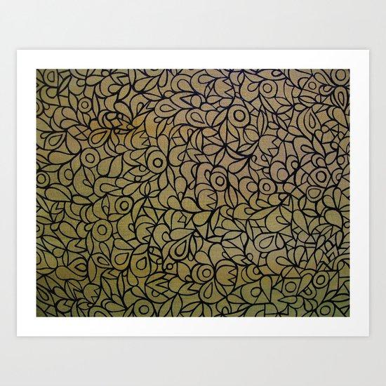 Abstract 53 Art Print