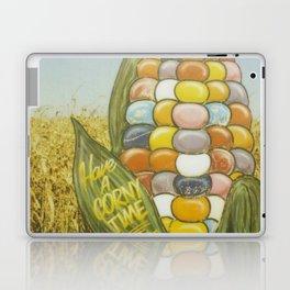 Have a Corny Time Laptop & iPad Skin