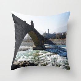 The Bridge - Italy Throw Pillow