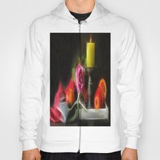 Apples Rose and Candle Hoody