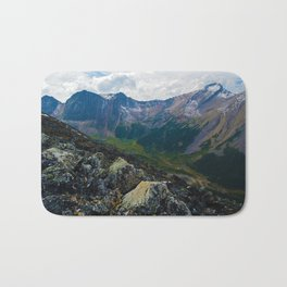 Down in the Valley, Pyramid Mt in Jasper National Park, Canada Bath Mat