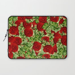Painting the Roses Red Laptop Sleeve