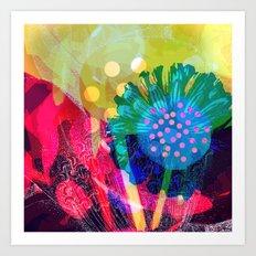 floral 010. Art Print