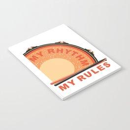 My Rhythm My Rules Notebook