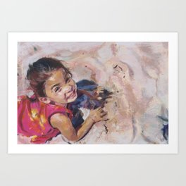 The Bliss of Childhood Art Print