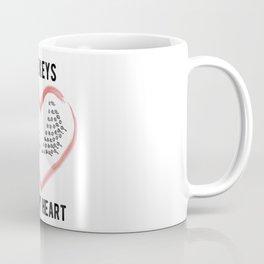 Keys to my Heart Coffee Mug