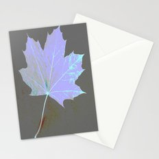 Canadian Maple Leaf Stationery Cards