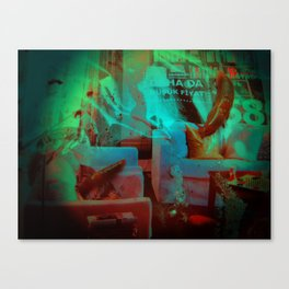 comforts of home Canvas Print