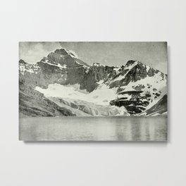 Mount Biddle and Lake McArthur Metal Print