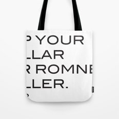 Pop your collar Tote Bag