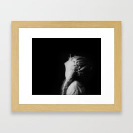 Blindet Av Vinden [Blinded By Wind] Framed Art Print