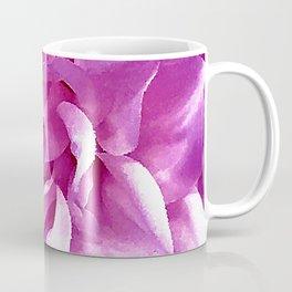 Pink-Magenta Flower Fine Art Close-Up Coffee Mug