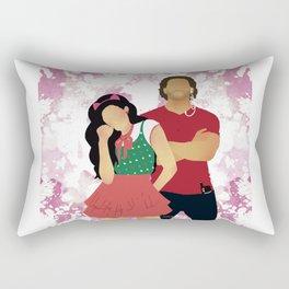 Sinfully Tangled Rectangular Pillow