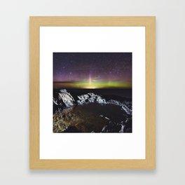 Northern Lagoon Framed Art Print