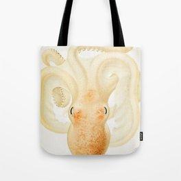 Peachy Keen Octopus Circa 1898 Tote Bag