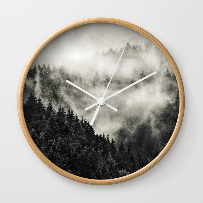 In My Other World // Old School Retro Edit Wall Clock