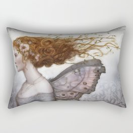 Mother of Pearl Fearie Rectangular Pillow