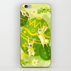 Easter Bunnies iPhone & iPod Skin