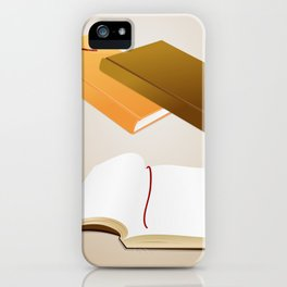 Book collection iPhone Case