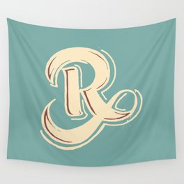 R Wall Tapestry