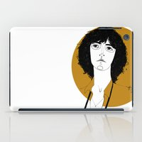 melissa smith iPad Cases featuring Patti Smith by Le Butthead