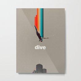 Dive Into My Soul Metal Print
