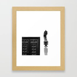 Light and Exit Framed Art Print
