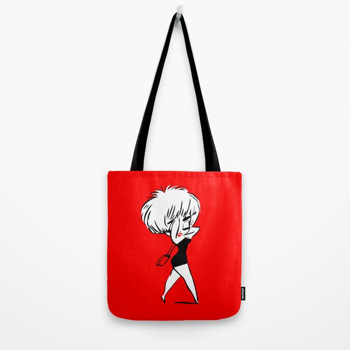 Madonna - Who's that Girl - Pop Art Tote Bag