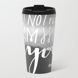 No Fear Metal Travel Mug