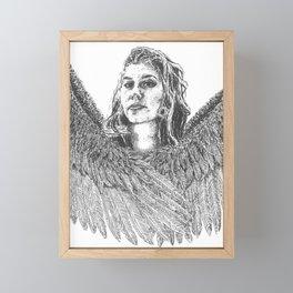 Harpy Framed Mini Art Print