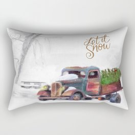 Let it Snow Rectangular Pillow